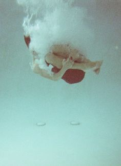 dive in #water #surreal #pale #surrealism #art #photography #swim