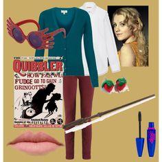 """Luna Lovegood"" my Halloween costume for 2013"