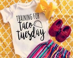 Taco kids clothing | Etsy
