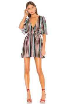 Shop a great selection of Violetta Dress Camila Coelho. Find new offer and Similar products for Violetta Dress Camila Coelho. Revolve Clothing, Satin Fabric, Wrap Style, Ladies Dress Design, Pop Fashion, Striped Dress, Designer Dresses, Short Dresses, Cold Shoulder Dress