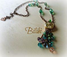 Bilibì: Collana con orologio vintage