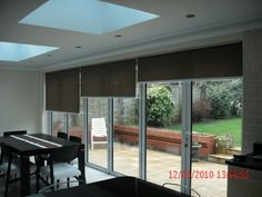 Electric Roller Blinds For Bi Fold Doors | Premier Blinds & Awnings Blog