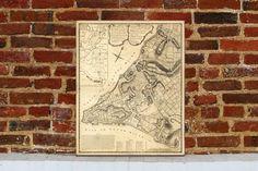 1775 New York City Map