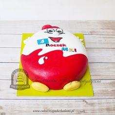 149BD Tort jajko Kinder Niespodzianka. Surprise Egg Cake.