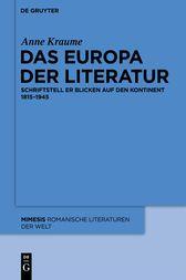 Read this?  Das Europa der Literatur - http://www.buypdfbooks.com/shop/uncategorized/das-europa-der-literatur/