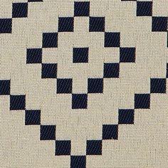 Jacquard+sand+m+mørk+blå+tern+mønster