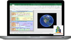 Plantilla para Conversión de Coordenadas UTM en Excel