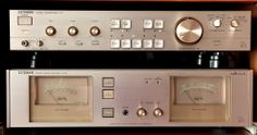 Luxman C-03 Pre & M-02 stereo main amps