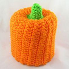 Pumpkin Bath Tissue Cover