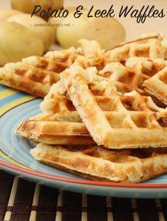 Potato and Leek Waffles (Vegan, Gluten-Free, Soy-Free, Nut-Free & The Eczema Diet Friendly)