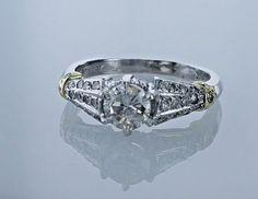 1.20 Carat GIA Grading Solitaire Diamond Engagement Ring H #LionDiamondsGroup #Solitaire