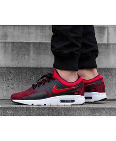 huge discount aaaab 7b883 Nike Air Max Zero Essential Homme Chaussures Noir Rouge