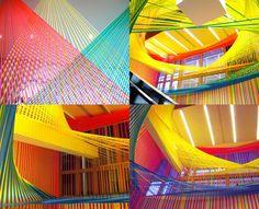 Image result for The amazing string art of Megan Geckler