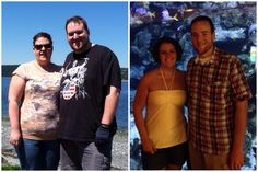 """""""The wife and I after 6 months of Keto. She's down 78, I'm down 90."""""""
