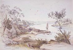 'Wooloomooloo Bay, Sydney', 1852