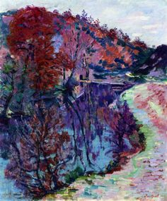 Banks of the Sedelle, Crozant (Armand Guillaumin - circa 1905)