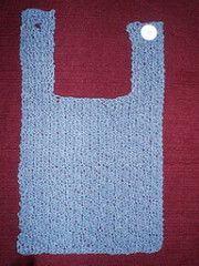 NOTE: Pattern is a Word .doc file, not a PDF file.~ Box Stitch Baby Bib (or dishcloth) by Rainy Kimbrough on Ravelry ~ she has this one as well as her other bibs as a FREE download - KNIT