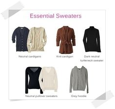 Wardrobe Essentials Checklist for Women   List of Essential Closet Staples for Chic Fashionistas