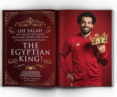 """Salah: """"From day one back in England I wanted to show what I can do. I think I'm doing well. Liverpool Football Club, Liverpool Fc, Football Team, M Salah, Liverpool You'll Never Walk Alone, Salah Liverpool, Egyptian Kings, Mohamed Salah, One Back"""