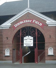 Doubleday Field, Cooperstown, NY.  Every halfway decent baseball fan should visit Doubleday Field, also in Cooperstown, apparently right next to the Hall of Fame.  It's the fabled birthplace of baseball and I would love to see a game there.