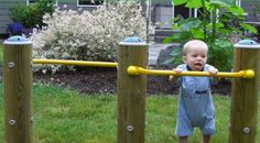 infant playground | Toddler Pull-up Bars Playground Equipment for Daycare