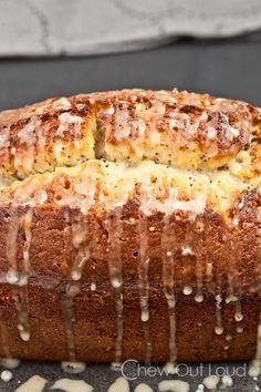 Moist Buttery Poppyseed Bread