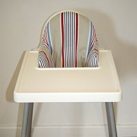 Galoomp High Chair Pillows - save your bubba's head from banging on the plastic of the Ikea Highchair Modern Cloth Nappies, Chair Pillow, Cushions, Pillows, Home And Living, The Hamptons, Ikea, Furniture, Shops