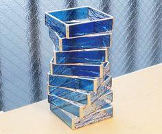 末友 章子のステンドグラス 2013.06.18 tue * spiral stacked glass