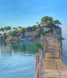 Zakynthos ~ Cameo Island Mycenaean, Greek Mythology, Bridge, River, Island, Photos, Outdoor, Instagram, Outdoors