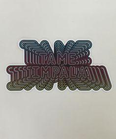 """Tame Impala Zoom"" sticker"
