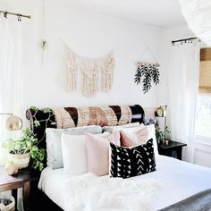 my scandinavian home: A Family Home where Nordic meets Bohemian Style - Tanya Meda / House of Six Interiors #bedroom #bohostyle