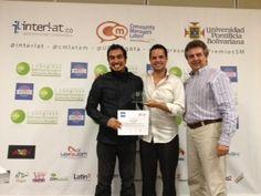 Premios Social Media 2012 del I Congreso Iberoamericano de Community Managers en Cartagena- Colombia