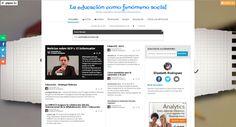 La educación como fenómeno social por Elizabeth Rodriguez