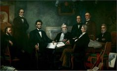 """History today Sept. 22 1862 President Abraham Lincoln read the preliminary Emancipation Proclamation to his cabinet. The Emancipation Proclamation declared """"That all persons held as slaves"""" within the rebellious states """"are, and henceforward shall be free."""" Signed into law on April 16, 1863."""