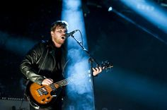 """Bassist / singer, Mike Kerr from the band """"Royal Blood""""."""