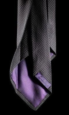 Purple Label seven fold tie.