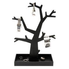 Present Time - Jewellery tree Dress Up Jewelry Tree Stand, Cadeau Design, Funky Decor, Bijoux Design, Things To Buy, Stuff To Buy, Jewellery Boxes, Stylish Home Decor, Jewelry Organization