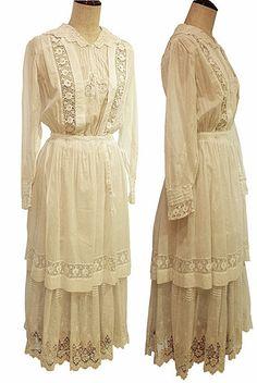 Antique Victorian / Edwardian White