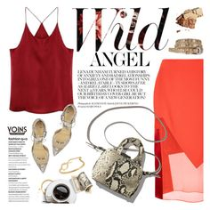 """""""Fire colors"""" by purpleagony ❤ liked on Polyvore"""