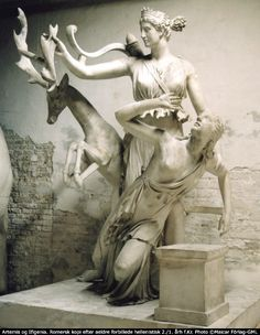 In Greek Mythology, Artemis is the Goddess of the Hunt, Moon, Forest and Animals.