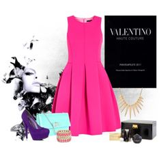 A beautiful bright dressy outfit