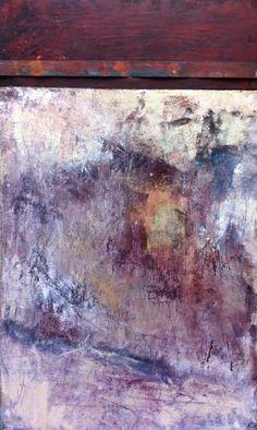 Cold Wax & Oil paintings, Encaustics. | Jude Lobe