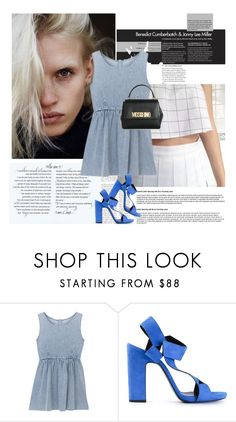 """""""27/06/2016"""" by ella-1 ❤ liked on Polyvore featuring Pierre Hardy and Moschino"""