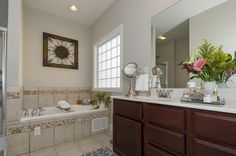 Additional master bath view