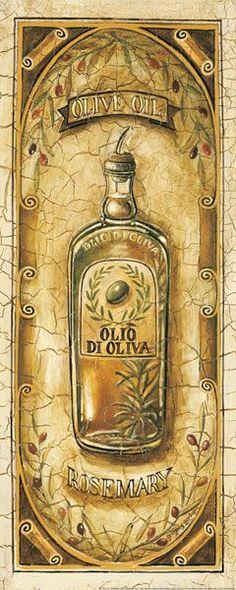 Aceite de Oliva con Rosemary (Gregory Gorham)