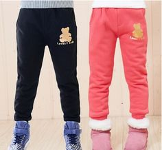 Free Shipping Winter Children's Bear Style Pants Baby Boys Thick Casual Trousers,High Quality pants hose,China pants sets Suppliers, Cheap trousers leggings from Kids Fashion Clothing - Worldwide Wholesale  on Aliexpress.com Cheap Pants, Kids Pants, Winter Kids, Baby Boys, Kids Fashion, Trousers, Sweatpants, China, Leggings