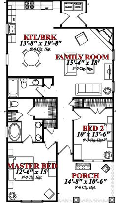 House Plan 78635 at FamilyHomePlans.com
