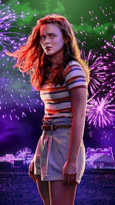 Stranger Things Wall, Stranger Things Characters, Stranger Things Season 3, Stranger Things Aesthetic, Stranger Things Netflix, Sadie Sink, Image Hd, Tv Shows, Seasons