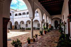 Patio del Convento de Santa Clara, Carmona, Andalucia, #España #Spain