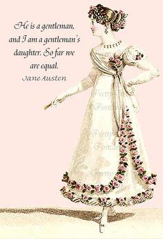 I am a gentleman's daughter